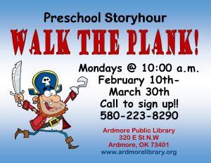 walk the plank flier tv, website, ppt, &FB