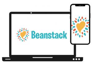 Beanstack reading app logo