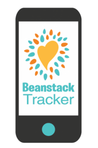 beanstack logo on mobile phone